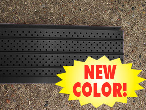 FlexxPoint Gutter Covers are now available in Thermal Thaw Black!